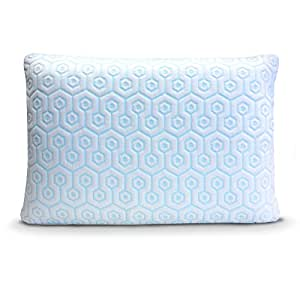 Hydrologie Pillow - Best Cooling Pillow in King Size, Combines Both Ventilated Cooling Gel Memory Foam & Gel Fiber Bed Pillow Covered with Cool-to the-Touch Cooling Pillow Case
