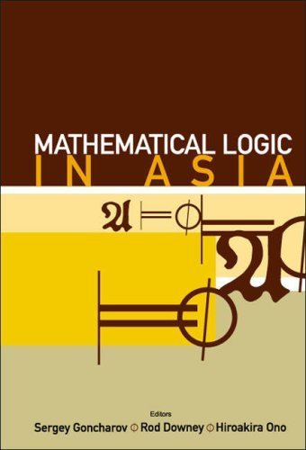 Mathematical Logic in Asia by R. Downey - Mall Downey In