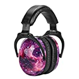 ZOHAN EM030 Children Earmuffs Hearing Protection SNR 27dB for Toddlers Comfortable Ear Defenders for Sleeping, Air Shows, Monster Jam (Galaxy)