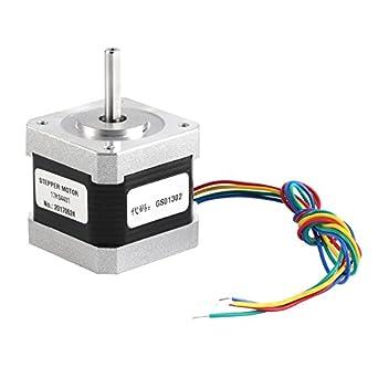 17HS4401 Motor paso a paso 4 cables 3D motor de impresora Nema17 1 ...