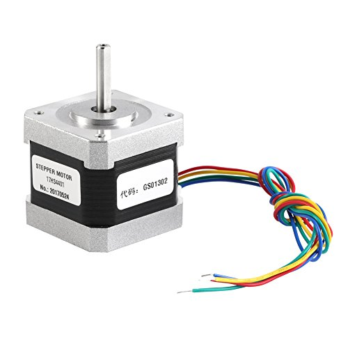 17HS4401 Stepper Motor 4-wire 3D Printer Motors Nema17 1.7A For 3D Printer and CNC 4242mm by Hilitand