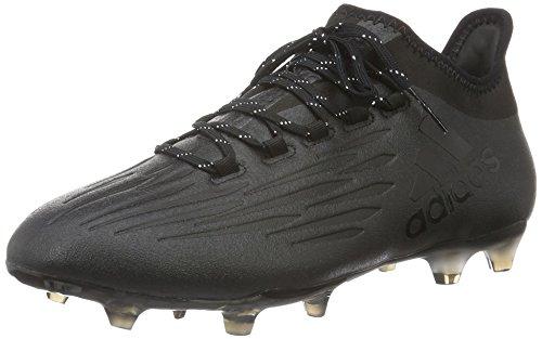 adidas Herren X 16.2 Fg Fußballschuhe, Schwarz (Core Black/Core Black/Dark Grey), 43 1/3 EU