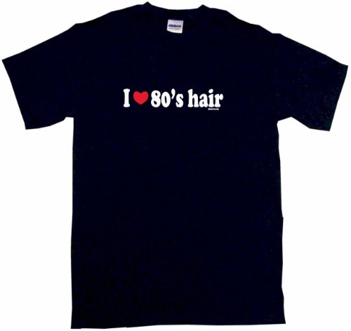 Tom Combo Stand - I Heart Love 80's Hair Women's Regular Fit Tee Shirt XXXL-Black