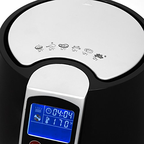 XtremepowerUS Liter 1500 Fryer Cooker Cooking Settings