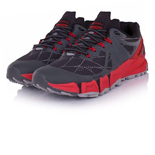Gris Pointe de Chaussures de Hommes Trail Flex Merrell agilité Course UAw6ZZ