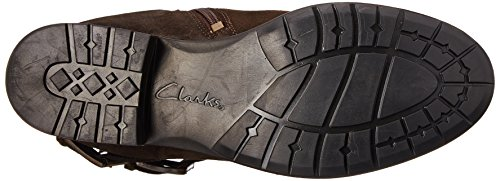 Clarks Womens Plaza Steer Boot Brown