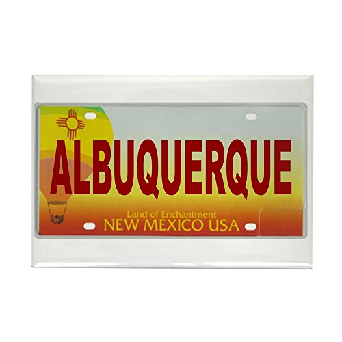 (CafePress New Mexico License Plate Magnet Rectangle Magnet, 2