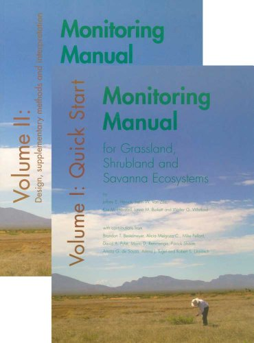 Monitoring Manual for Grassland, Shrubland and Savanna (2 Volume Set)