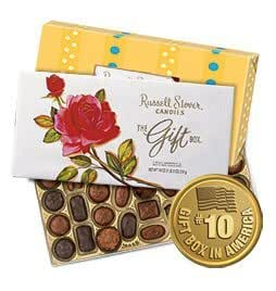 "Russell Stover ""The Gift Box"", Select Assortment of Milk & Dark Chocolates, 18-oz. box"