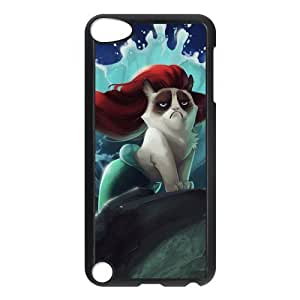 Grumpy Cat Hard Plastic Cover Snap On Case For Ipod Touch 5,iTouch 5th Generation Kimberly Kurzendoerfer