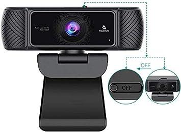 2021 AutoFocus 1080P Webcam with Microphone and Privacy Cover, NexiGo Business Streaming USB Web Camera