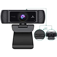 2021 AutoFocus 1080P Webcam with Microphone and Privacy Cover, NexiGo Business Streaming USB Web Camera, Plug and Play…