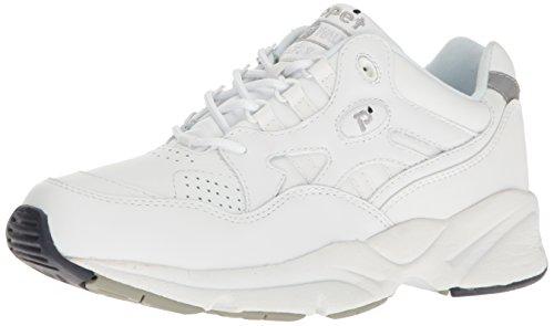 Propét Men Stability Walker Sneaker, White, 10.5 N US