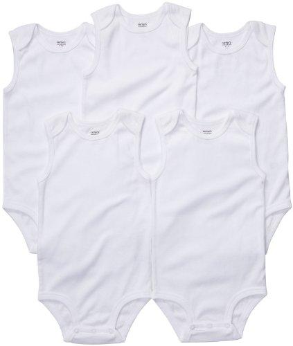 Carters 5 Pack S L Bodysuits