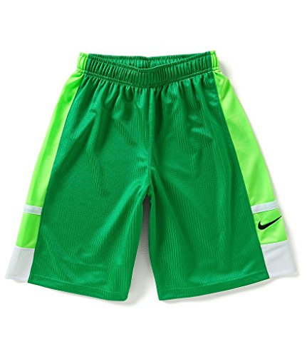 Shorts Franchise Nike Kids - Nike Franchise Shorts (Little Kids/Big Kids) Spring Leaf/White/Voltage Green/Black LG (14-16 Big Kids) x One Size