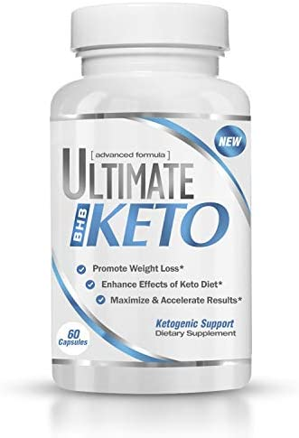 Ultimate Keto - BHB Exogenous Ketones Supplement - Weight Loss and Keto Diet Support - Enter Fast Ketosis - Burn Fat - Beta-Hydroxybutyrate Mineral Salts Formula for Men and Women 1