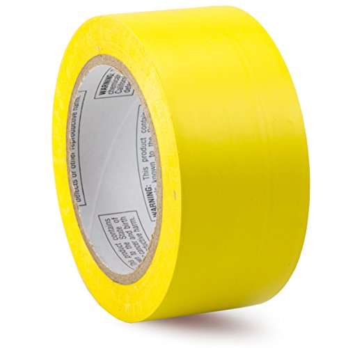 Accuform Signs Signs PTM623YL Accuform Signs Vinyl Color Banding Pipe Marking Tape, 2