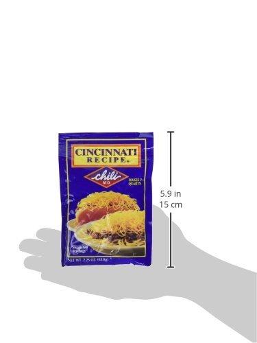 Cincinnati Recipe Chili Mix, 2.25 oz (Pack of 2) by .