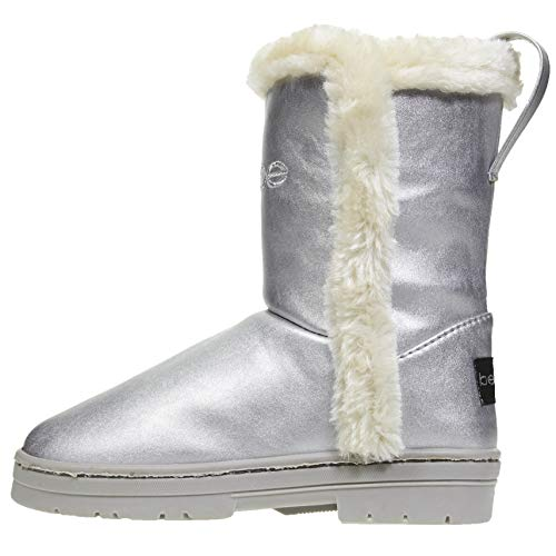bebe Girls Pearlized Winter Boots Size 12 with