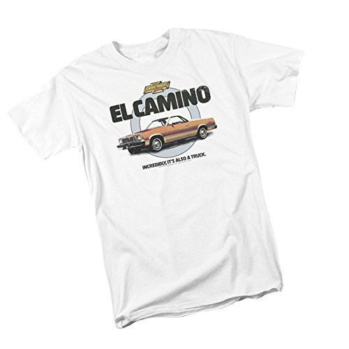Also A Truck -- El Camino -- Chevrolet Adult T-Shirt, Large