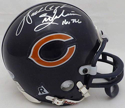 Walter Payton Autographed Chicago Bears Mini Helmet