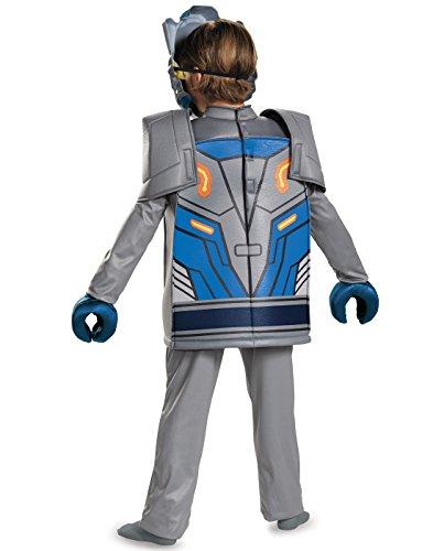 Lego Knight Costume (Clay Deluxe Nexo Knights Lego Costume,)