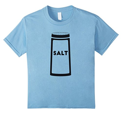 Kids Salt Shaker T-Shirt Halloween Costume for Couples Top Tee 10 Baby Blue