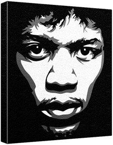 Jimi Hendrix Pop Art Painting 100 Original Not A Print