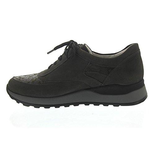 Gris à pour 5 37 Femme Waldläufer Ville de Gris Chaussures EU Lacets 0wqtF7q