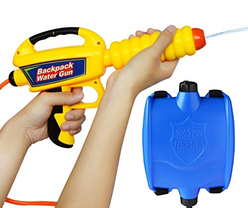 5billion Children Summer Beach Gaming Water Gun Kids Outdoor Super Soaker Blaster Backpack Pressure Squirt Pool Toy Birthday Gifts by 5billion (Image #1)