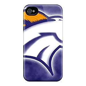 PC Case For Iphone 5C Cover Strong Protect CaDenver Broncos Design