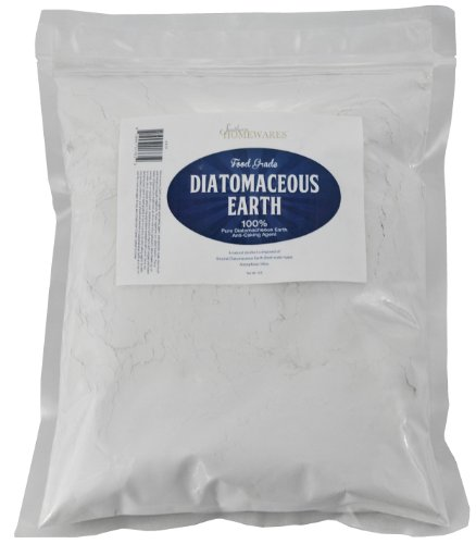 Diatomaceous Earth Food Grade (Fresh Water Type) 2lb Zipper Bag CODEX DE (0.2)