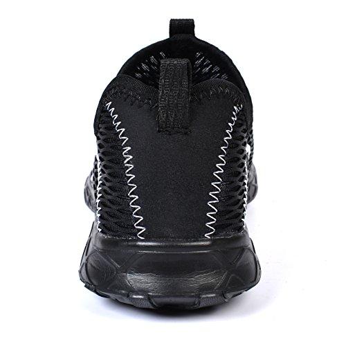 Drying Black1968 Water Shoes Quick Feetmat Womens Shoes Beach Mesh xX5x18Eq