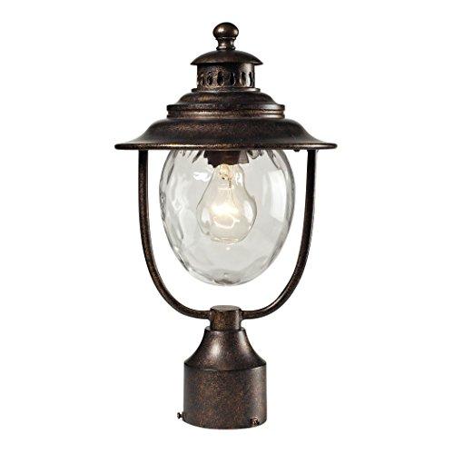 Searsport 1 Light Post Mount In Regal Bronze