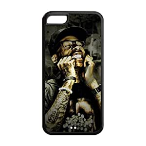 customized wiz khalifa for Iphone 5C case 5C-brandy-140095