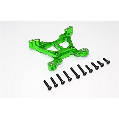 Traxxas Slash 4X4 / Stampede 4X4 VXL / Deegan 38 Fiesta ST Rally Upgrade Parts Aluminum Front Shock Tower - 1Pc Green: Toys & Games