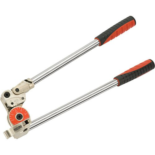 RIDGID 38048 Model 608 Heavy-Duty Pipe Bender, 1/2-inch Tubing Bender