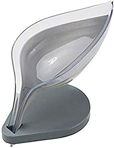 Details about  /Leaf Shape Drainage Soap Holder Storage Container Sink Sponge Drain Box