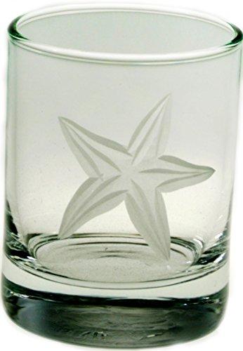 Starfish Glass Votive 2.5