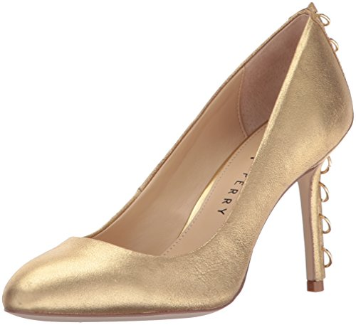 Chrissie Women's The Perry Pump Gold Katy qvtFq