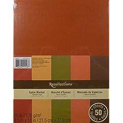 Cardstock Paper, Spice Market 8 1/2 x 11