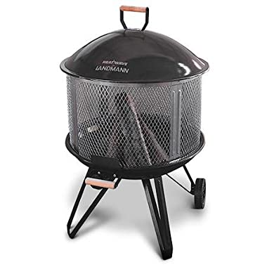 Landmann Heatwave Outdoor Fire Pit and Cooking Grate