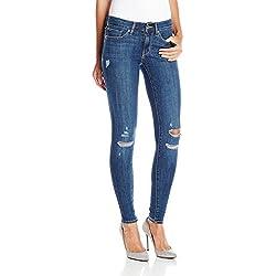 Levi's Women's 711 Skinny Jean, Damage is Done, 32Wx30L