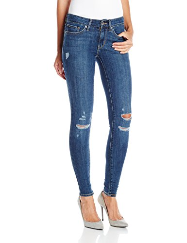 (Levi's Women's 711 Skinny Jeans, Damage Is Done, 27Wx30L)