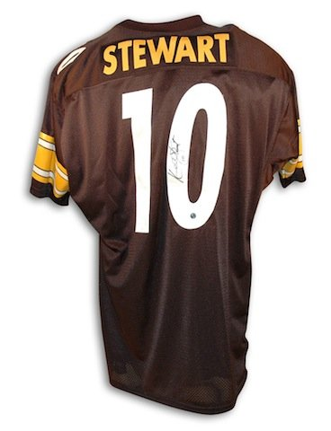 Autographed Kordell Stewart Pittsburgh Steelers Throwback Jersey -APE COA