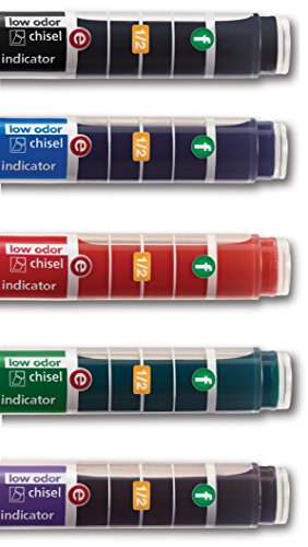 EXPO Dry Erase Markers with Ink Indicator, Chisel Tip, Assorted Colors, Box of 24 by Expo (Image #13)