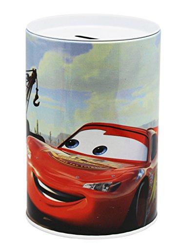 Disney Pixar's Cars Mater and Lightning McQueen Kids Coin Bank