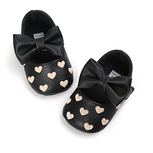 rvrovic-baby-girls-shoes-pu-soft-sole-bow-prewalker-0-18-months-11cm-0-6months-heart-black