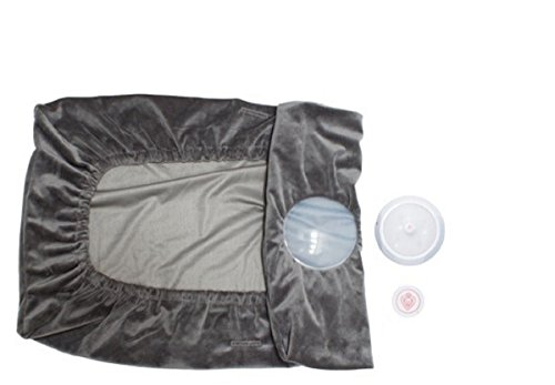 Prince Lionheart IllumiPAD Changing Pad Conversion Kit, Grey