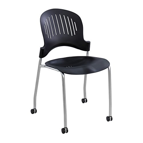 Safco Products Company Zippi Armless Stacking Chair (Set of 2) [Set of 2]